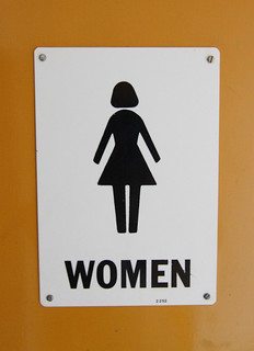 Woman Restroom Sign | by Sam Howzit