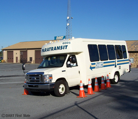 DART's paratransit bus roadeo, driver maneuvering cone obs… | Flickr