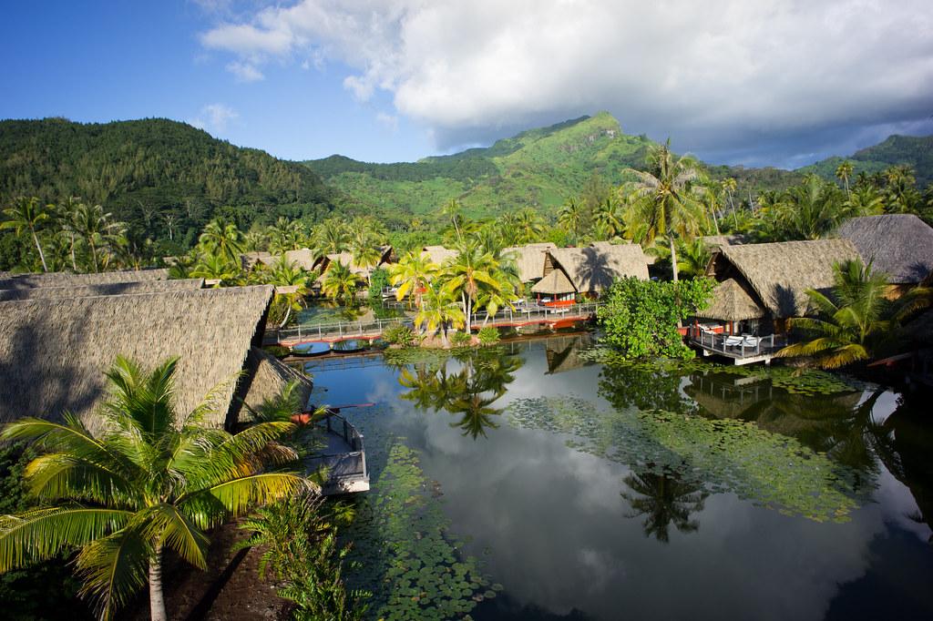 Hotel Maitai Lapita Huahine Society Archipelago French