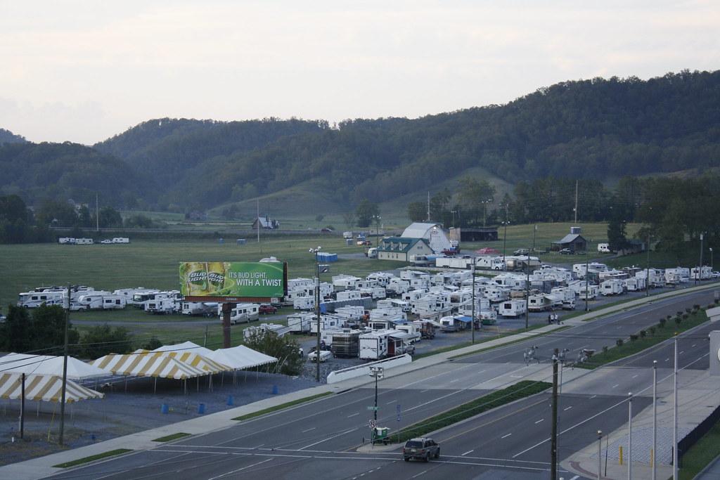 Earhart Campground Staging Bristol Motor Speedway