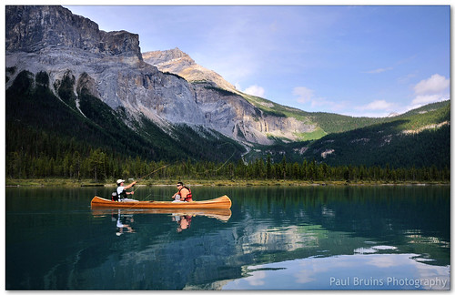 Fishing Emerald Lake | by Panorama Paul