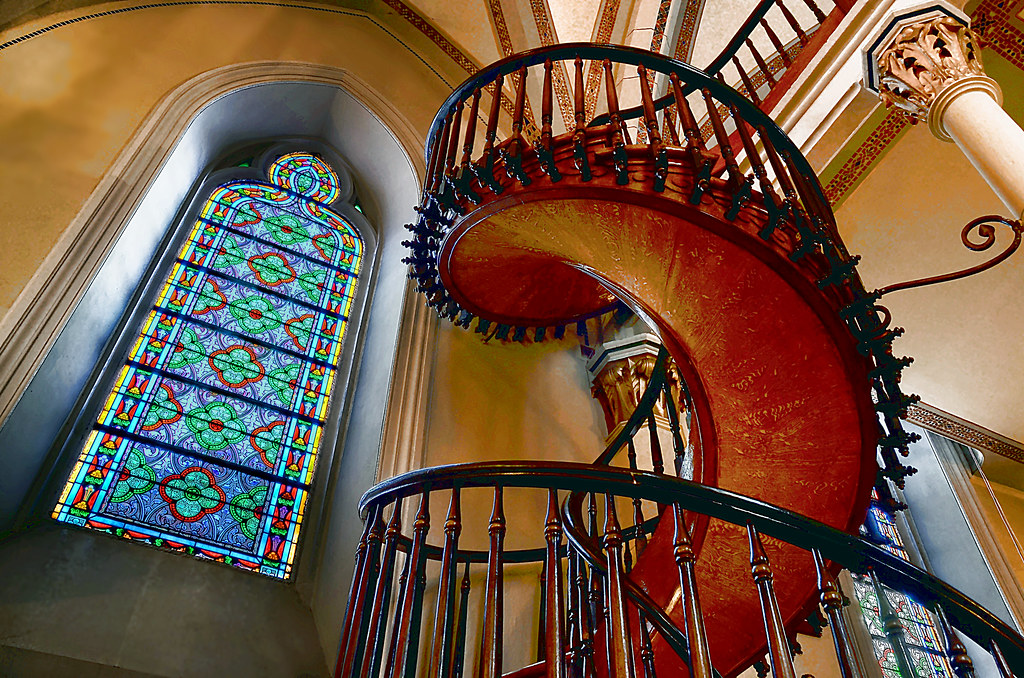 The mystery of the spiral staircase