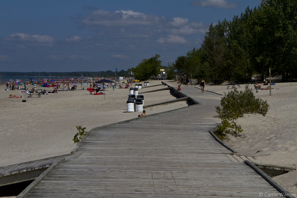 More Wasaga Beach Boardwalk | The boardwalk at Beach #1 actu ...
