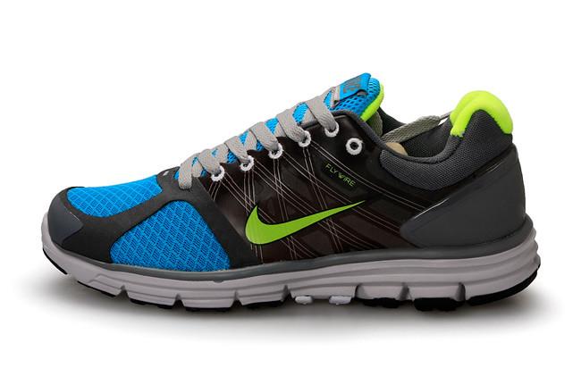 bb59c958e2d7f ... Nike Lunarglide+2 Mens Running Shoes - Black Blue Green