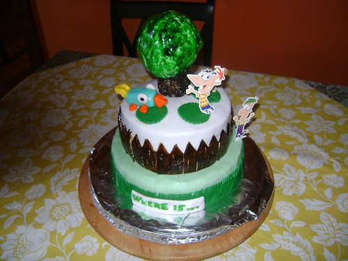 Phineas And Ferb Cake Pan