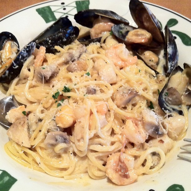seafood portofino at olive garden iphone photo shrimp