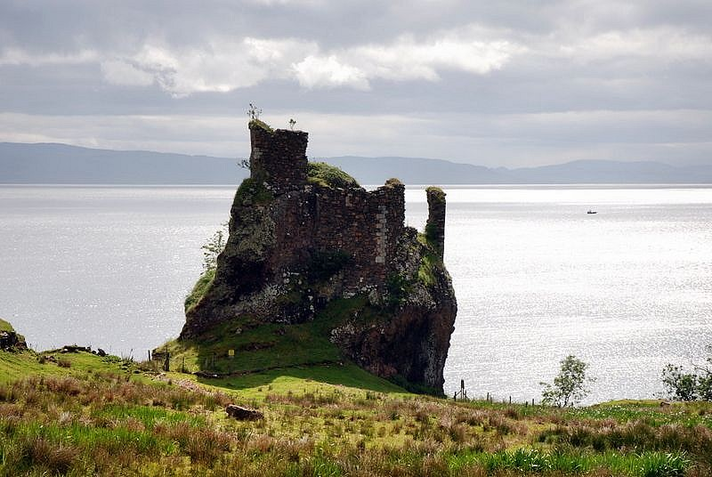 Brochel Castle Isle Of Raasay Was Built In The 1400s And