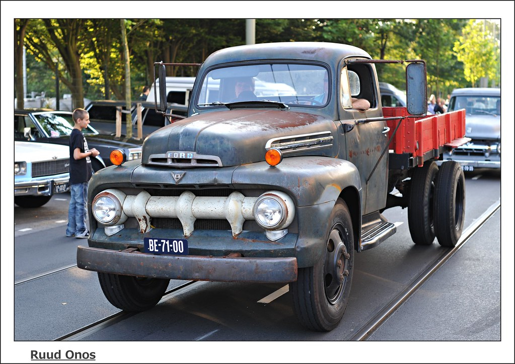 Be 71 00 Ford F5 1951 Ruud Onos Flickr