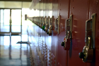 Lockers at school | by Brett Levin Photography