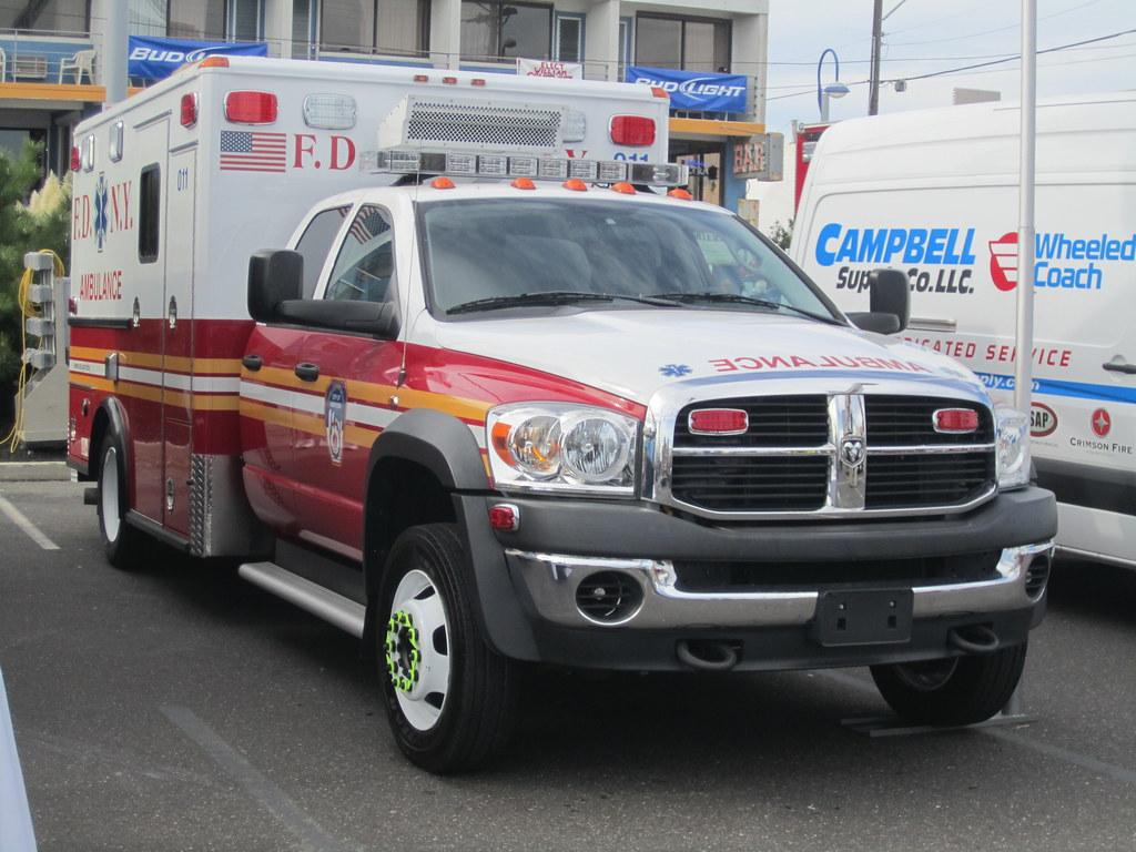 Fdny Ambulance Dodge Aaron Mott Flickr