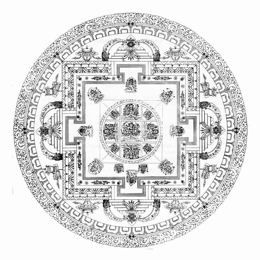 mandala tibetano 1 hermandadblanca org mandala mandalas