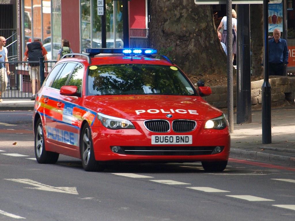 Metropolitan Police Bmw 525d Armed Response Vehicle