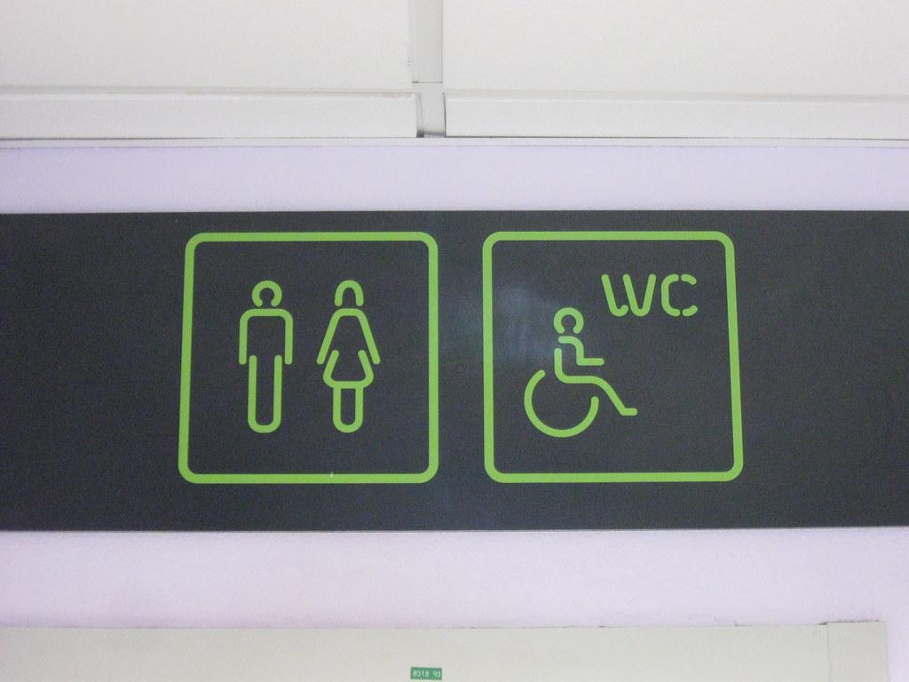 Bathroom Toilet Restroom Signs Universal Toilet Signs In