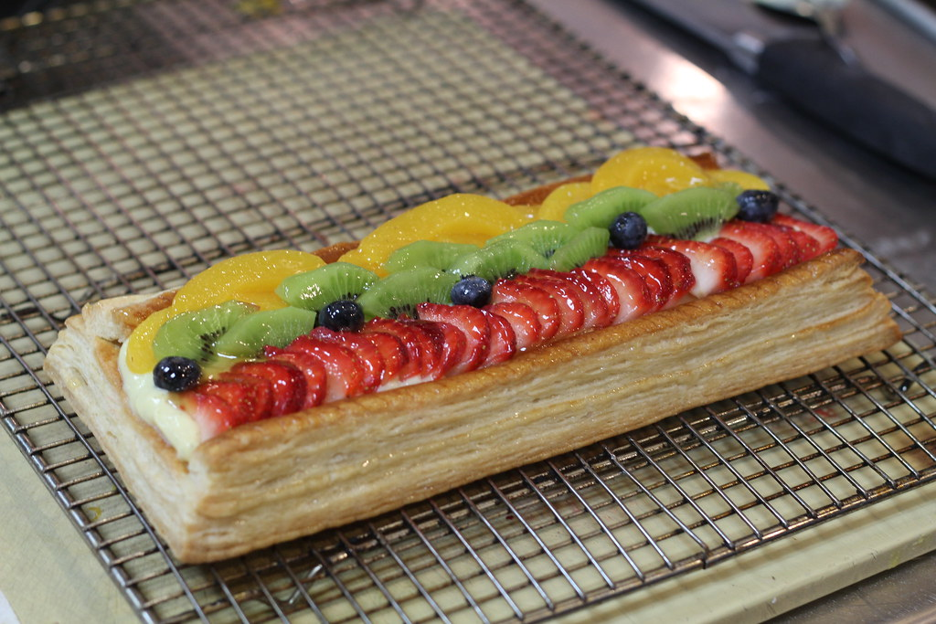 puff pastry fruit tart fruits of their labor
