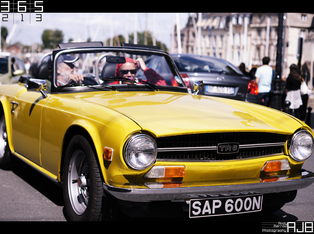 213/365 TR6 | Went back to Honfleur and went round the town ...