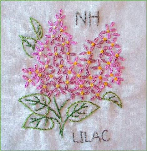 Small Hand Embroidery Flower Designs