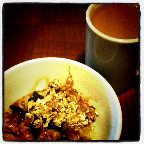 Instragram - oatmeal and coffee | by Célèste of Fashion is Evolution