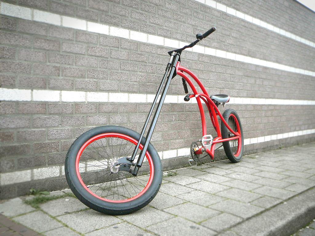 Lowrider fiets (lowrider bike, vélo customisé), Gulpen, Pr… | Flickr