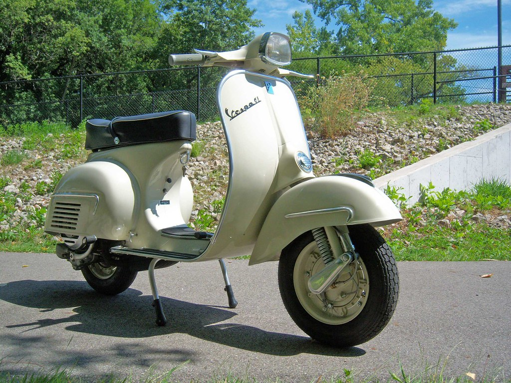 1964 Vespa Gl Done 2 Green Tree Scooters Flickr