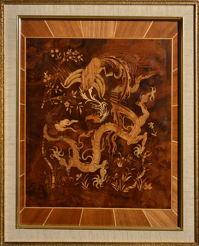 """""""Phoenix & Dragon"""" Woodwork - Inspired by a 7th Century Pe ..."""