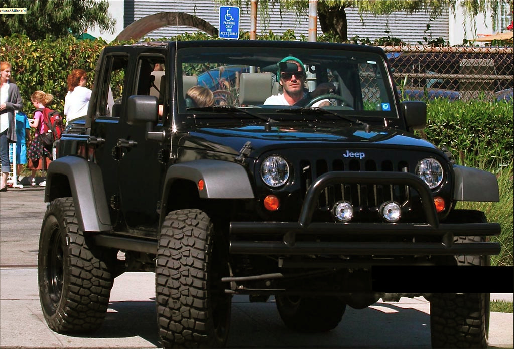 David Beckham's Jeep Wrangler Unlimited | MWButterfly | Flickr