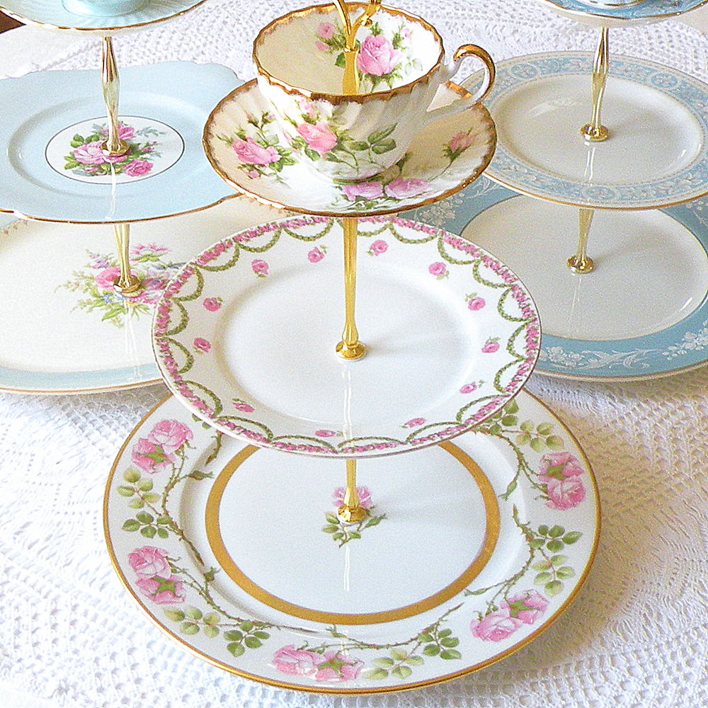 wedding cake tray pink green wedding cupcake stand tea tray cake plate cente 8846