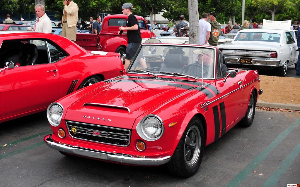 Datsun 1600 Roadster >> 1970 Datsun Fairlady 2000 (SRL311) - red - fvl | Cars ...