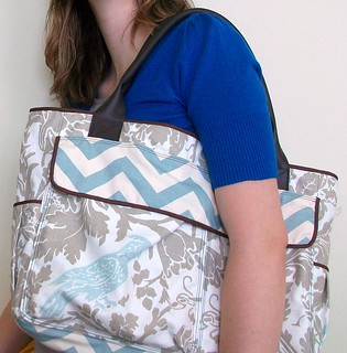 Birds of a Feather Diaper Bag | by Feathers Flights