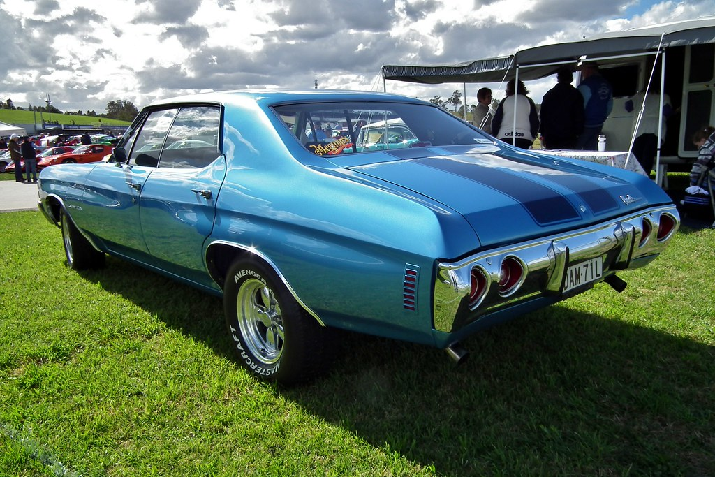 1971 Chevrolet Chevelle Malibu 400 Sedan 1971 Chevrolet