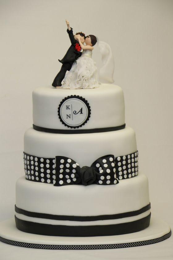 Hochzeitstorte Schwarz Weiss Weddingcake Black White Flickr