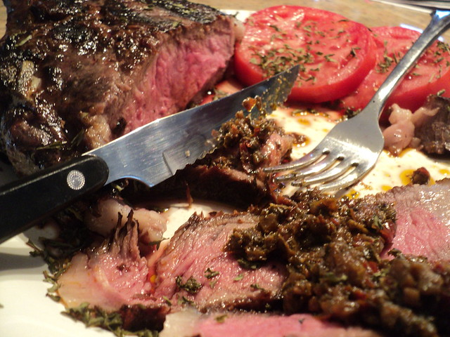 Cowboy Steak with Chimichurri Sauce | Flickr - Photo Sharing!