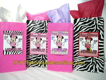 personalizedminniemousebirthdaypartydecorationszebra Flickr