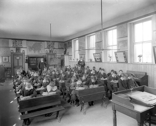 Classroom This Large Classroom Of 44 Boys In Waterford