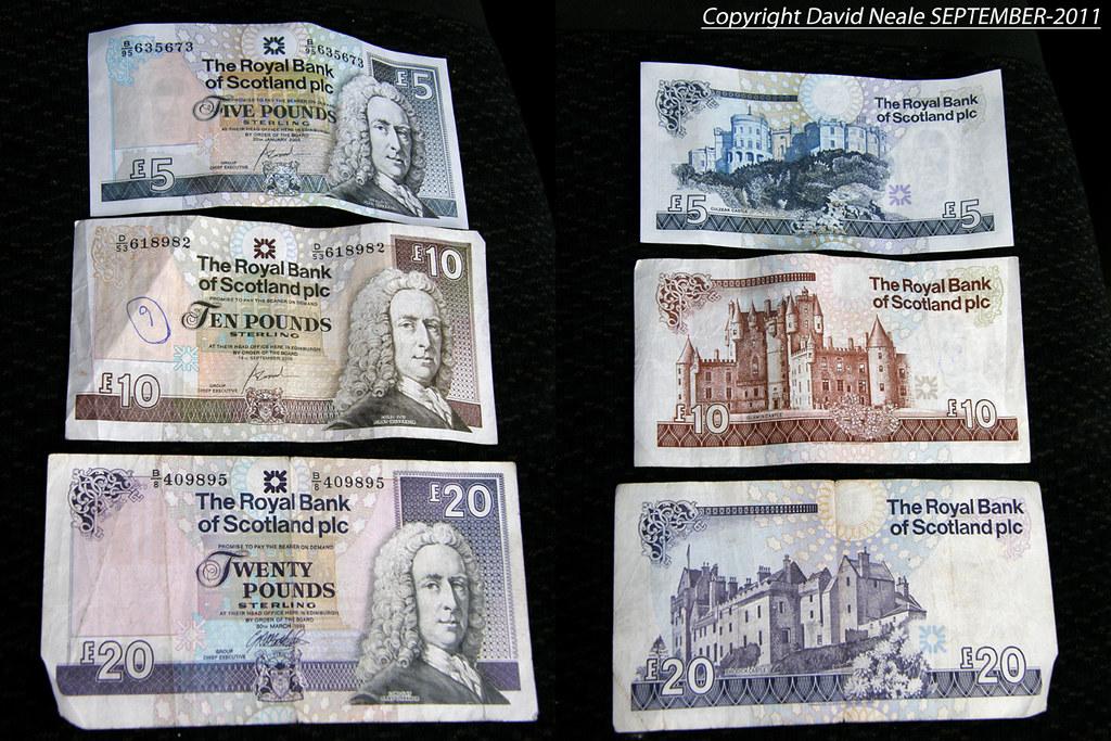 Scottish money   Scotland