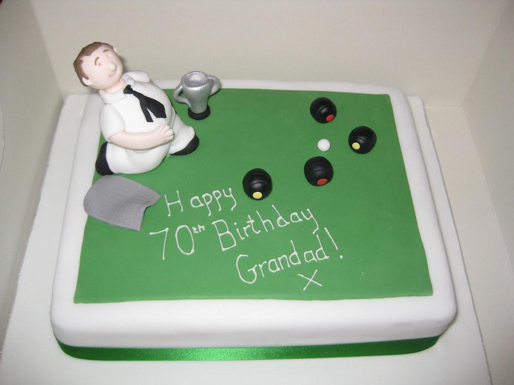 Crown Green Bowling Cake KerryCox20 Flickr