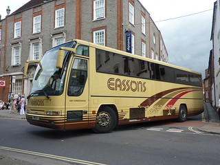 EASSON'S COACHES - Volvo / Plaxton Excalibur - WNR 63 | by Busnplanes