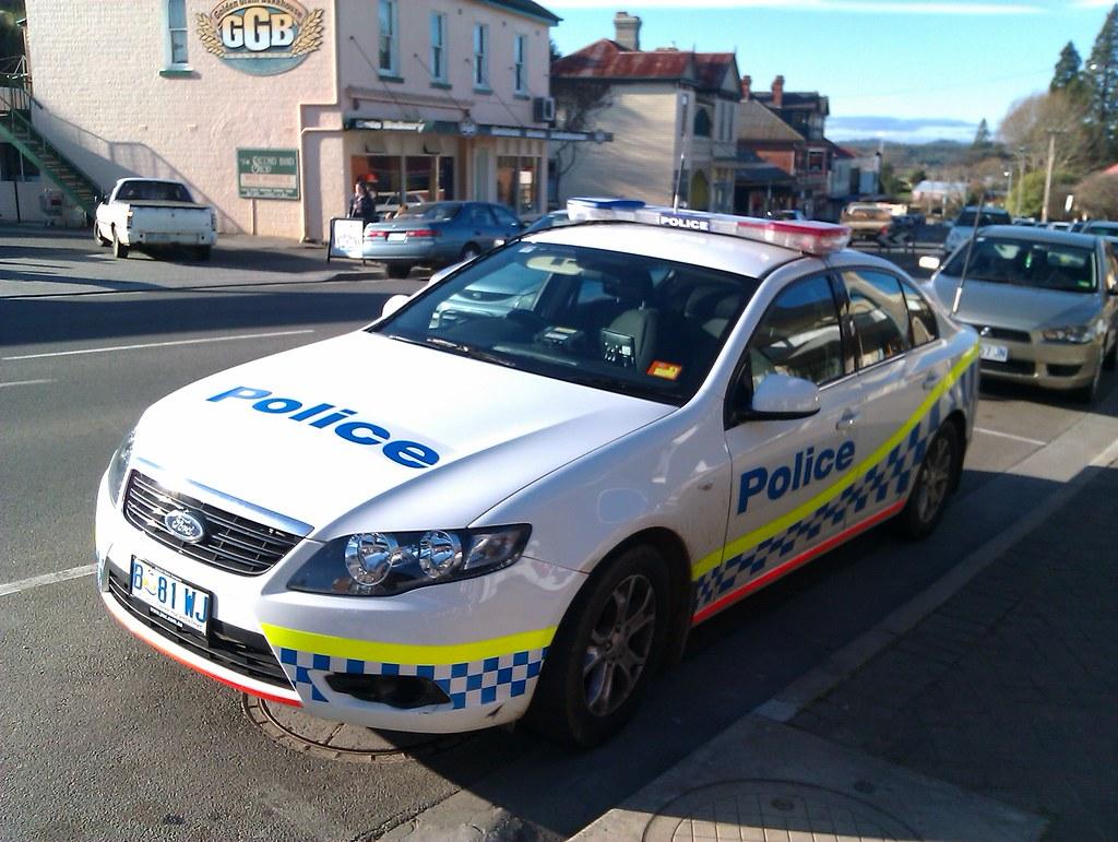 Policía de Tasmania