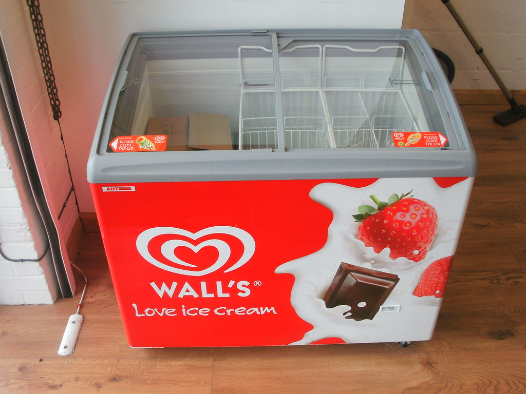 Walls Ice Cream Fridge Sold 163 250 Webay4u Co Uk Flickr