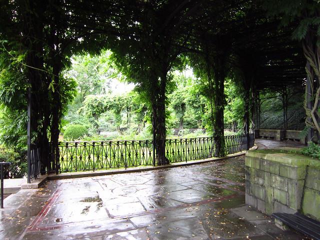 Conservatory Garden Central Park Italian Garden Wisteria