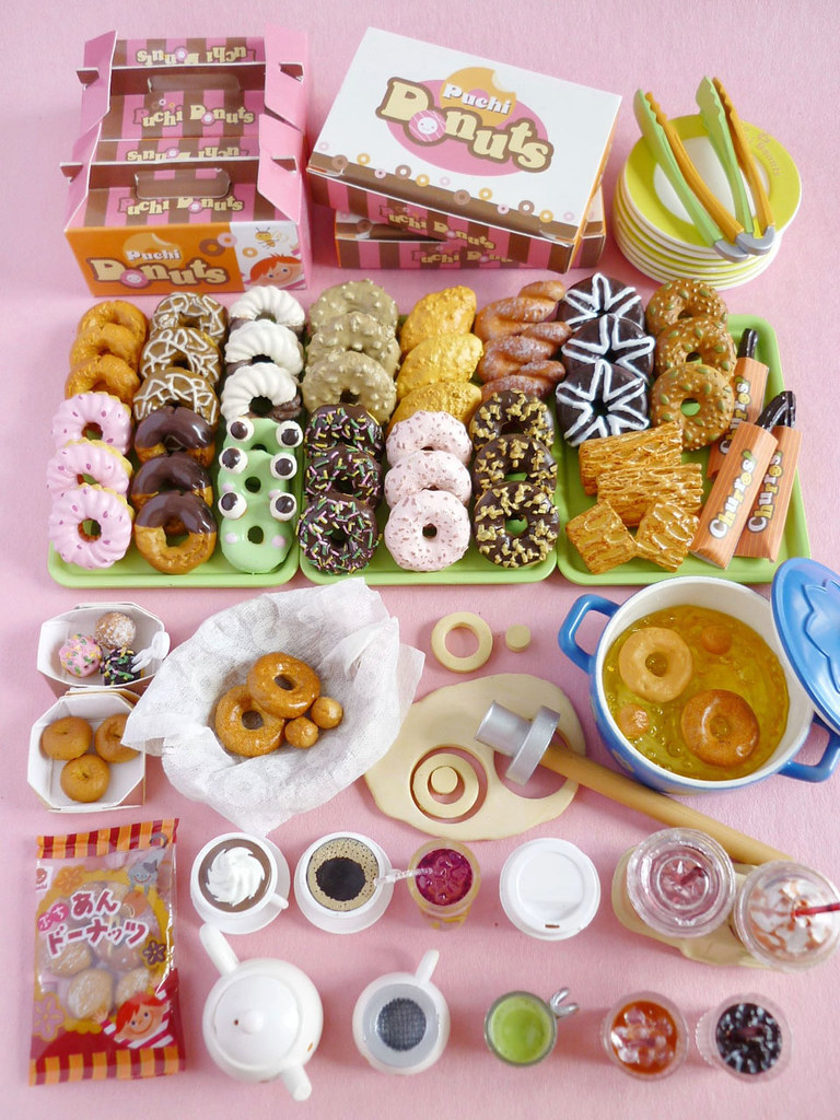 Re-ment Donuts To Go | karenisme08 | Flickr