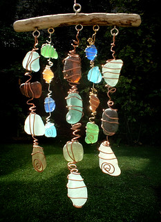 Scottish Sea Glass Mobile | by ARTISANNE