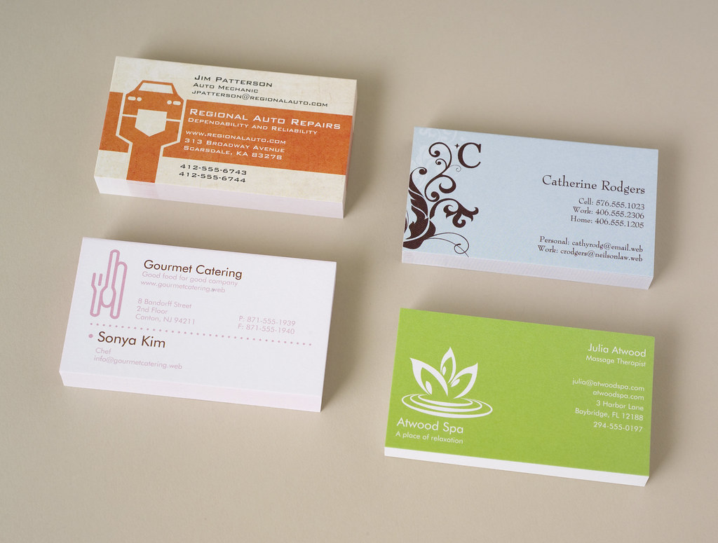 vistaprint business cards four stacks by vistaprint pr - Vistaprint Business Card
