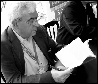 Elias Khoury signing at the Edinburgh International Book Festival, August, 2011 | by ronramstew