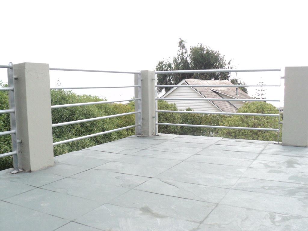 Baranda terraza balneario santo domingo baranda de 90cm for Barandas para terrazas