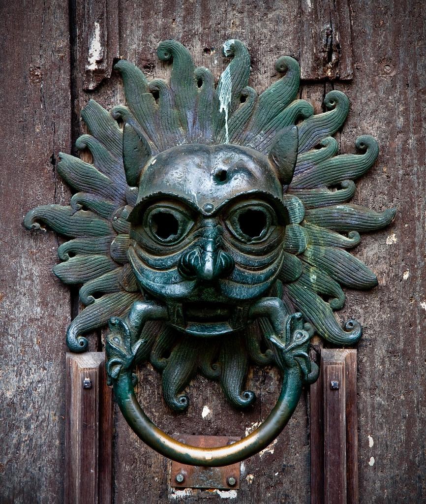 Durham Cathedral Door Knocker Durham County Durham Uk