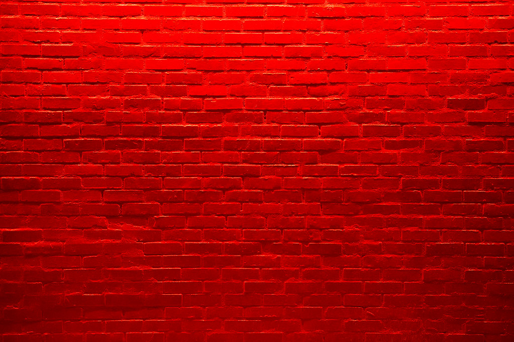 a red brick wall go figure