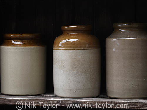 Three Old Stone Jars Copyright Nik Taylor Photography