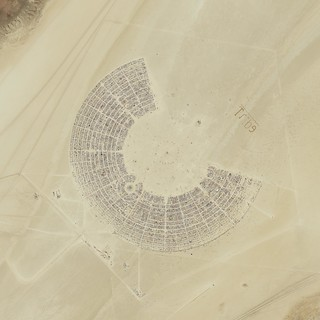 Burning Man 2011 High Resolution Satellite Photo | by ZDCA Design & Development