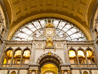 Antwerp central station | by Victor van Dijk (Thanks for 4M views!)