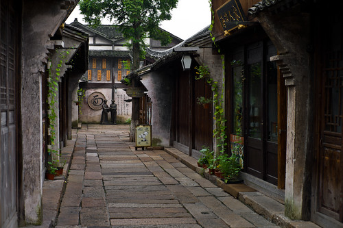 Wuzhen in the morning 2 | by jujubier